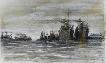 steam ship, thames, london, london eye, o2 stadium, battersy power station,